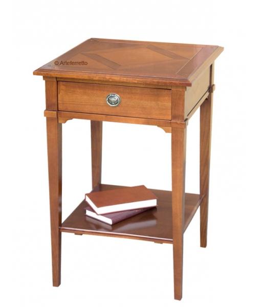 petite table en bois, petite table de salon