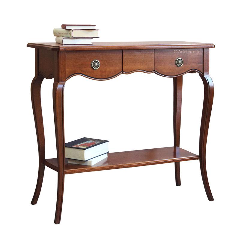 console style en merisier lamaisonplus. Black Bedroom Furniture Sets. Home Design Ideas