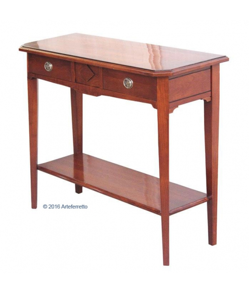 table console 90 cm avec 2 tiroirs lamaisonplus. Black Bedroom Furniture Sets. Home Design Ideas