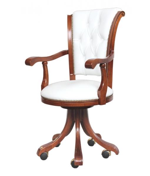 fauteuil de bureau classique lamaisonplus. Black Bedroom Furniture Sets. Home Design Ideas