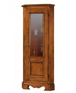 meuble d'angle, ameublement de style classique, vitrine d'angle, ameublement pour le salon