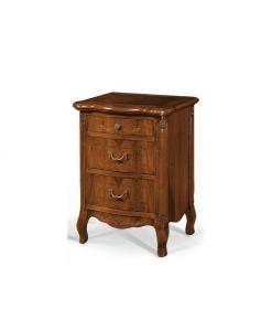 table de chevet classique, table de chevet, table de nuit, ameublement pour la chambre à coucher