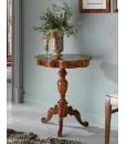 Table marquetée, table de salon, table en bois