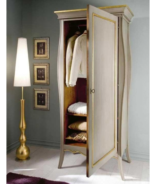 armoire 1 porte fonctionnelle lamaisonplus. Black Bedroom Furniture Sets. Home Design Ideas