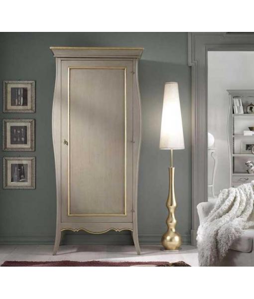 armoire, armoire 1 porte, armoire en bois, armoire de style, style classique