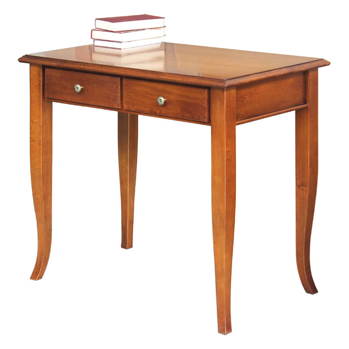 Petit bureau 2 tiroirs lamaisonplus for Petit bureau tiroir