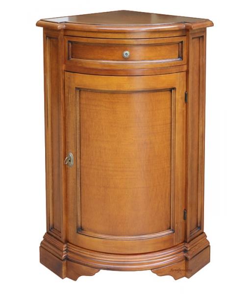 Meuble de rangement d 39 angle en bois lamaisonplus - Meuble rangement angle ...
