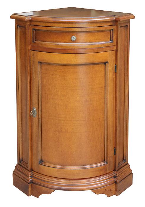 Meuble de rangement d 39 angle en bois lamaisonplus - Meuble de rangement d angle ...