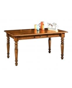 table à manger fixe en bois