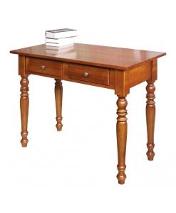 Bureau, bureau en bois, bureau avec 1 tiroir