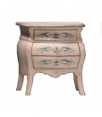 table de chevet, table de chevet classique, table de chevet en bois, table de chevet décorée, ameublement classique, zone nuit