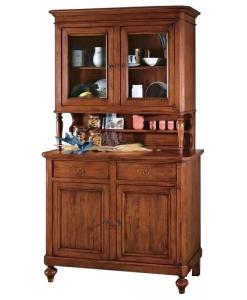 Buffet vaisselier, meubles art pauvre, rangement cuisine
