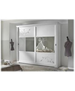 Armoire avec miroir, armoire portes coulissantes