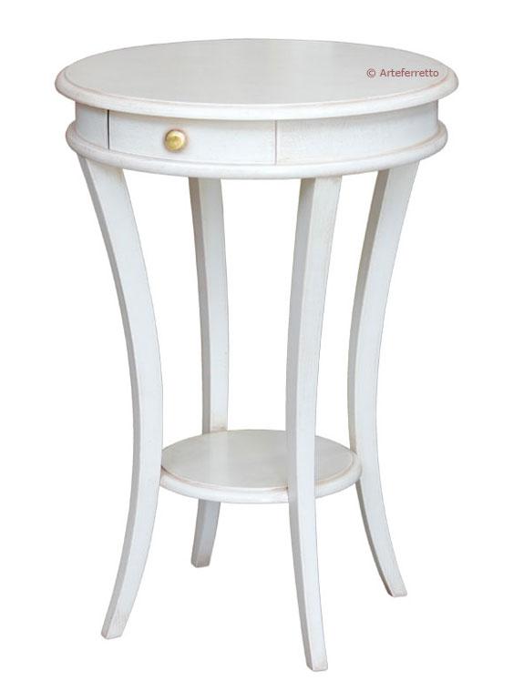 Petite table ronde classique lamaisonplus for Petites tables rondes