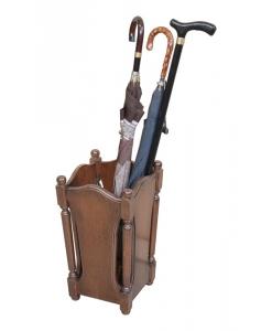 Porte-parapluie en bois classique Arteferretto