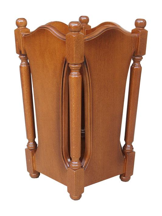 Porte parapluie en bois classique lamaisonplus for Largeur porte classique