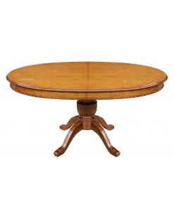 table à rallonge ovale cm 160