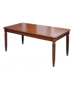 table rectangulaire, table classique, table de style