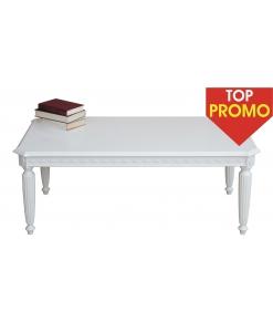 Table basse de salon, table de salon blanche, table de salon élégante