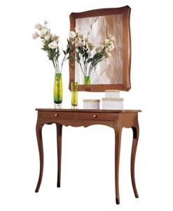 composition console et miroir pour l 39 entr e lamaisonplus. Black Bedroom Furniture Sets. Home Design Ideas