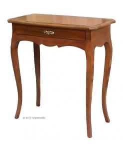 Petite table console, meuble console avec tiroir