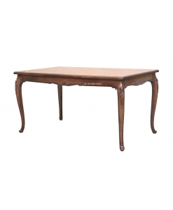 Table de salle à manger classique 160 cm