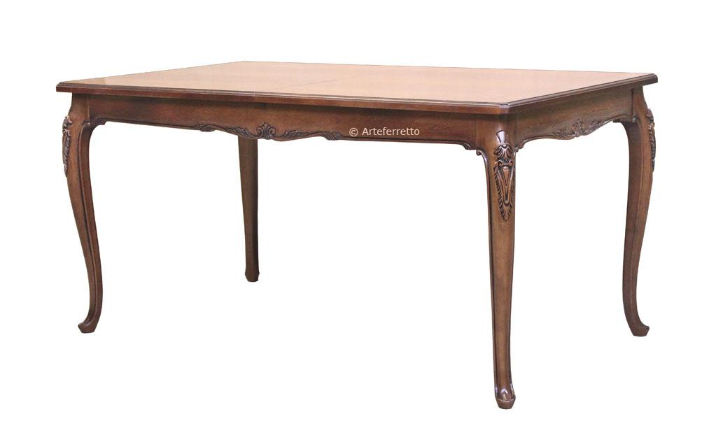 Table De Salle Manger Classique Sculpt E 160 250 Cm