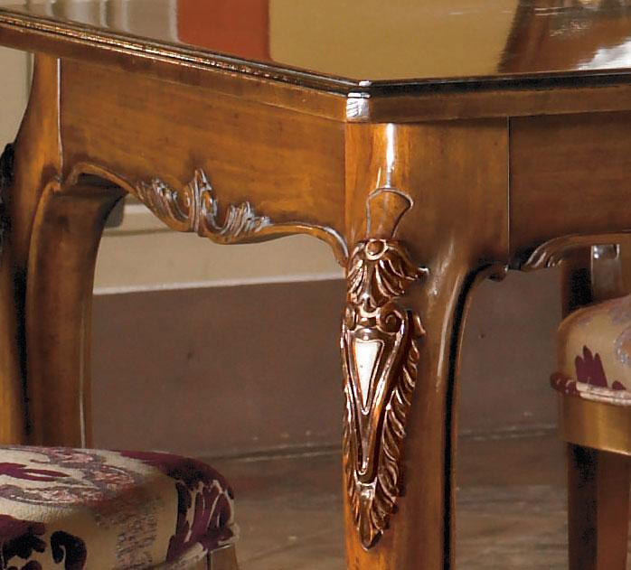 Table de Salle à manger classique sculptée 160-250 cm - LaMaisonPlus