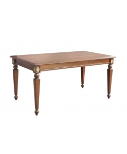 table rectangulaire fixe top class