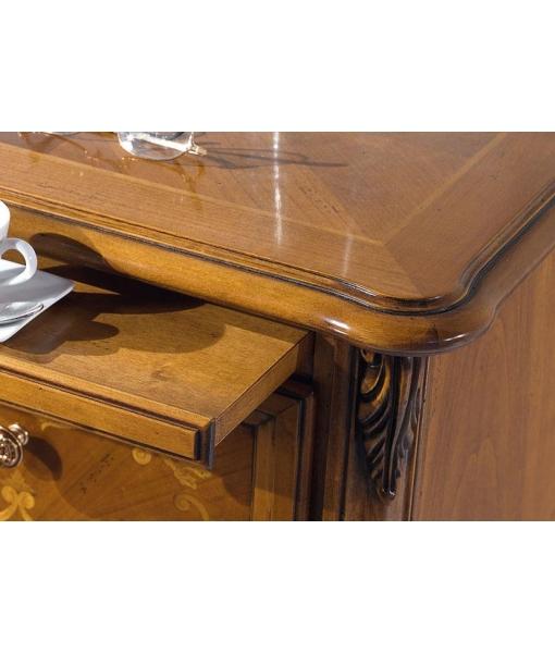 table de chevet, table de chevet en bois, zone nuit