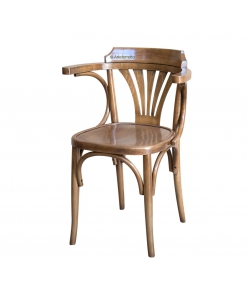 Chaise design en bois de hêtre
