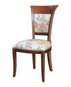 chaise classique, chaise en bois, chaise assise haute