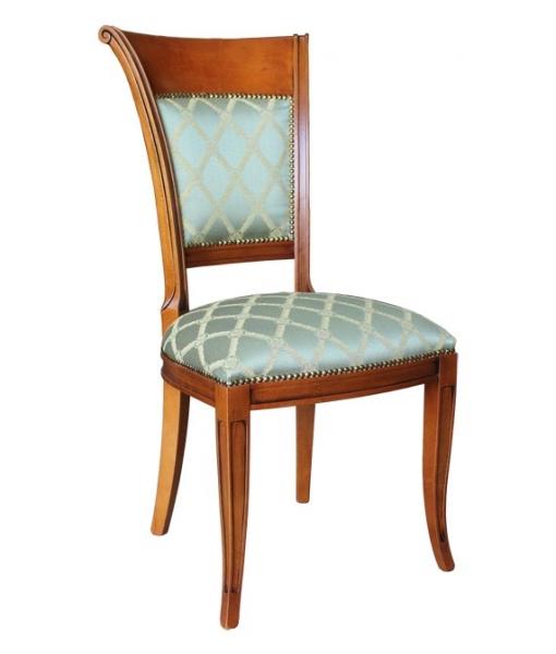 chaise charme dossier haut lamaisonplus. Black Bedroom Furniture Sets. Home Design Ideas