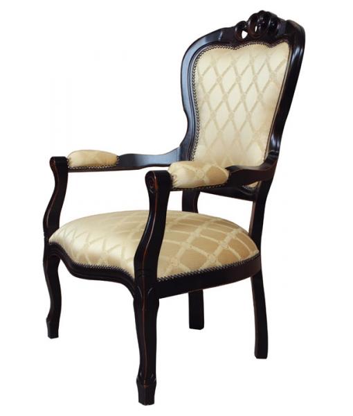 fauteuil shabby chic. fauteuil noir
