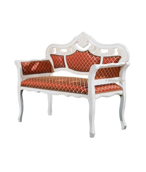 Petit canapé style classique. Réf: FR-54