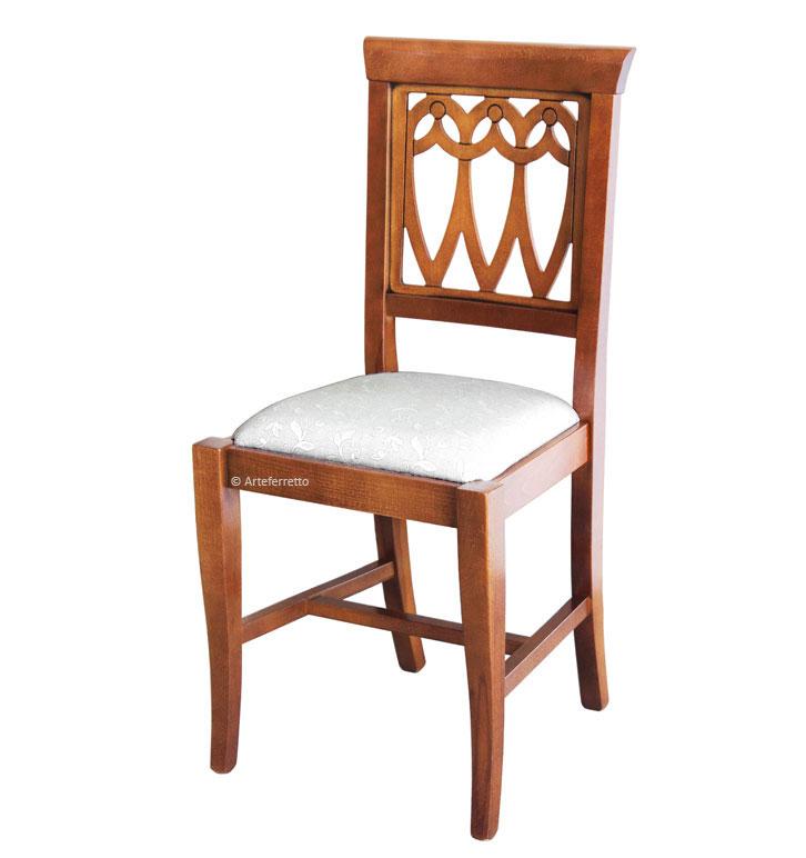 Rembourrée Chaise Assise Et En Bois vmNn80w