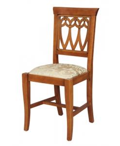 chaise en bois, chaise pour la salle à manger, chaise classique, chaise merisier