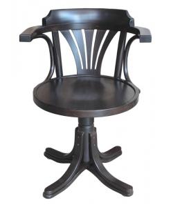Fauteuil tournant, chaise tournante, chaise de bureau, mobilier bureau, fauteuil tournant avec accoudoirs
