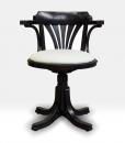 fauteuil tournant, FAUTEUIL NOIR, FAUTEUIL TOURNANT NOIR, fauteuil de bureau