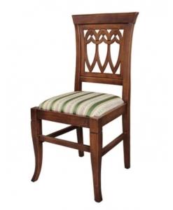 chaise en bois massif, chaise classique, chaise robuste, chaise en bois, chaise de repas