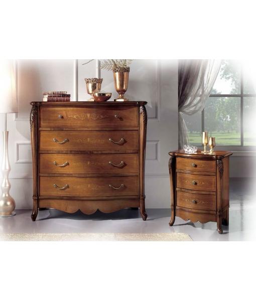 commode, commode en bois, meubles chambre à coucher