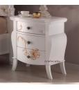 table de chevet decorée, table de chevet, table de chevet en bois, table de chevet classique, zone nuit