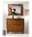 commode, commode 4 tiroirs, meuble commode de chambre, commode classique en bois, chambre à coucher