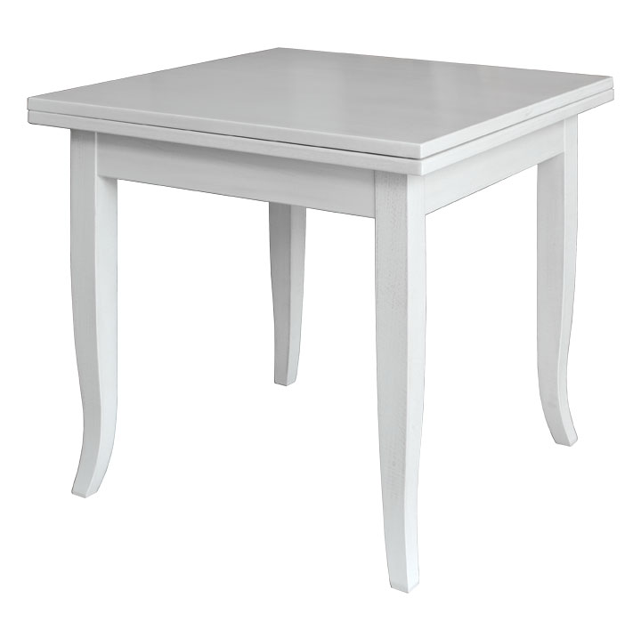 Table carr e extensible 80 160 cm lamaisonplus Table extensible 80 cm de large