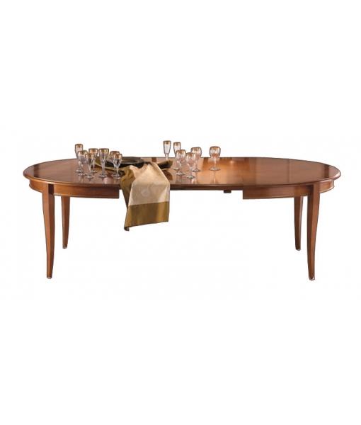 table à rallonges, table en bois, salle à manger