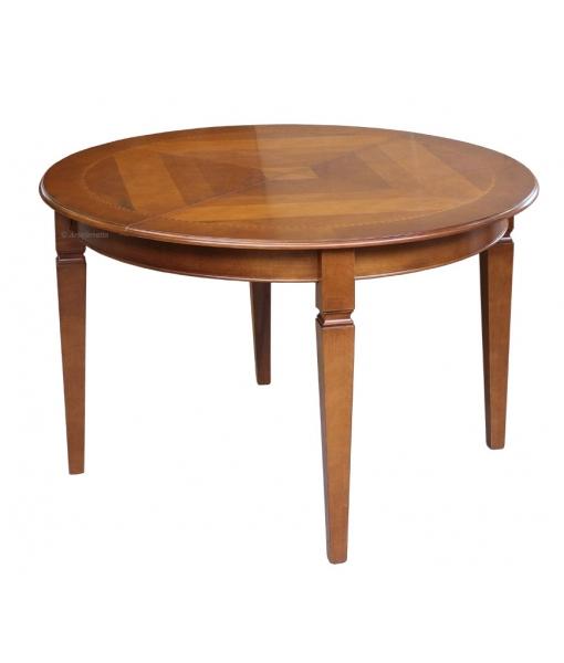 table ronde diam tre 120 cm marquet e lamaisonplus. Black Bedroom Furniture Sets. Home Design Ideas