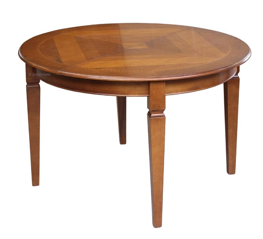 Table ronde diam tre 120 cm marquet e lamaisonplus - Table ronde 120 cm ...