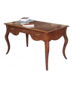 bureau, bureau classique, bureau de style, bureau modelé, ameublement de style classique, Arteferretto
