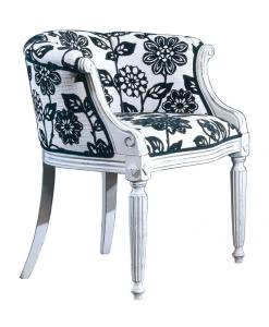 fauteuil style louis XVI, fauteuil de salon, fauteuil salle d'attente