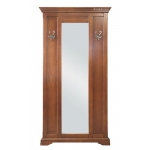 Vestiaire pour l'entrée en bois avec miroir Arteferretto